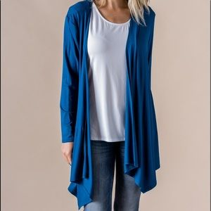 NWOT- HAS POCKETS-Agnes & Dora Waterfall Cardigan